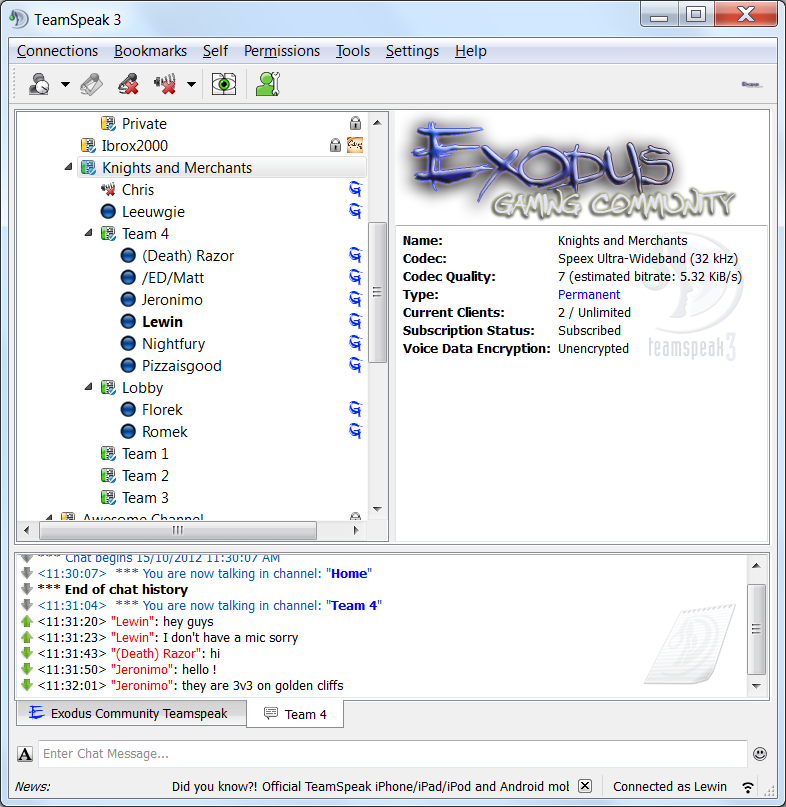 Free TeamSpeak3 Server Generator